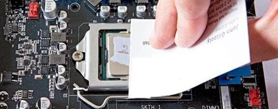 how to use thermal paste