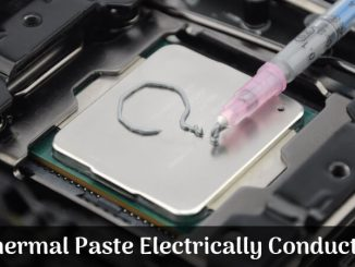 Is Thermal Paste Electrically Conductive_
