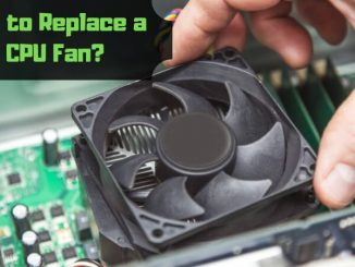How to Replace a CPU Fan_